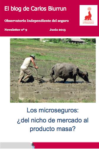 eletter Nº 9: Los microseguros: ¿del nicho de mercado al producto masa?