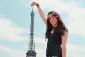 Nora Olivé De Vega, estudiante de periodismo en la UAB.