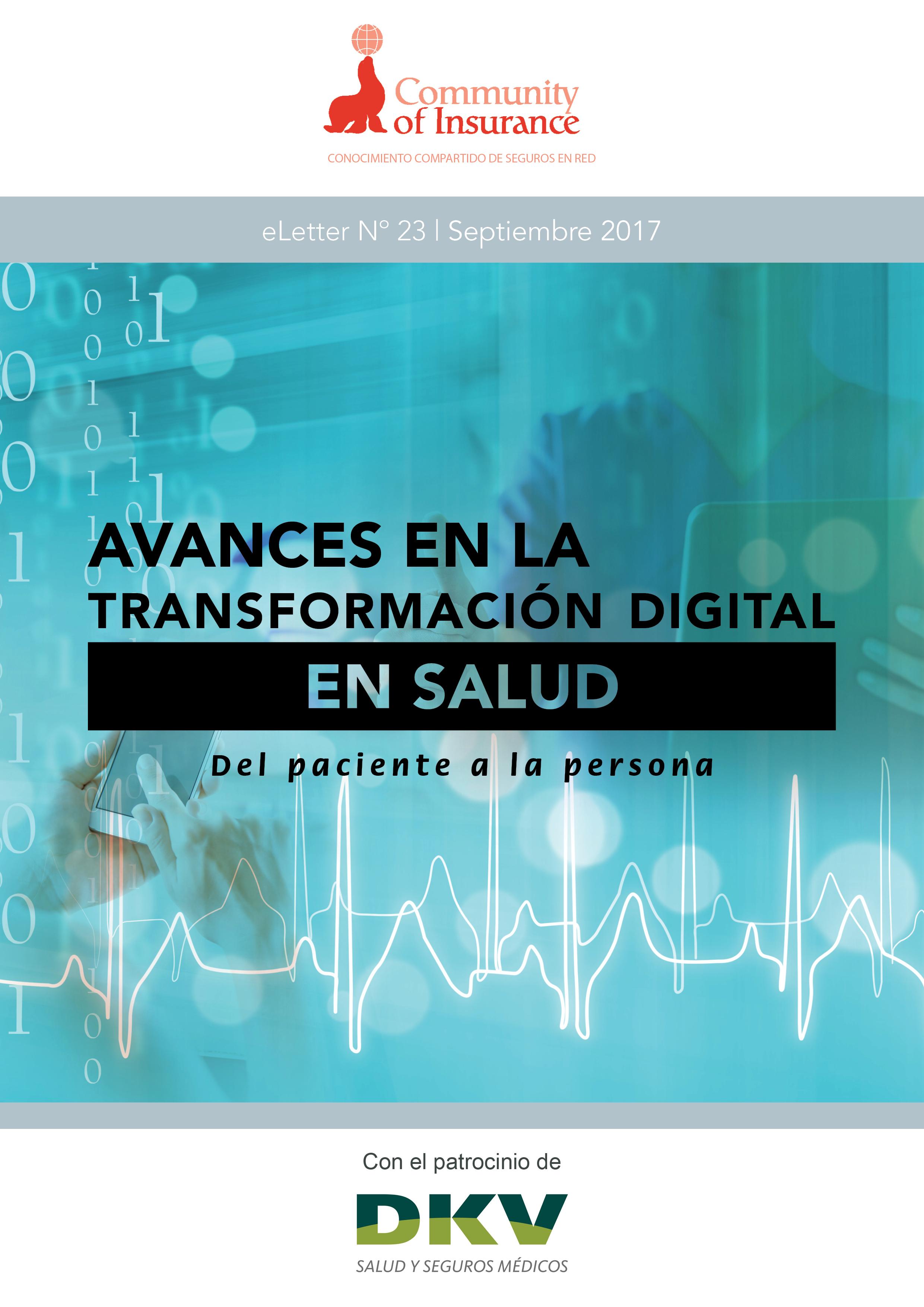 eLetter Nº 23 | Septiembre 2017 Avances en la transformación digital en salud